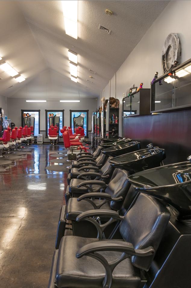 Barber School Interior